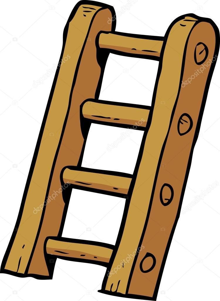 Escaleras de doodle dibujos animados archivo im genes for Imagenes escaleras