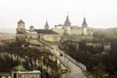 Old tower in Kamianets-Podilskyi Ukraine — Stock Photo