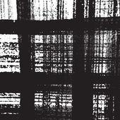 Distress Checkered Texture — Stockvektor