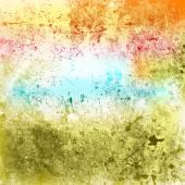 Multicolor Grunge Texture — Stock Vector