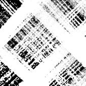 Checkered Distress Texture Diagonale — Stock Vector