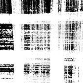 Checkered Texture Distress — Stock Vector