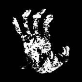 Hand Terrible — Stock Vector