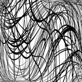 Texture Scrawl Wavy — Stock Vector