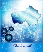 Map of Tirschenreuth — Stock Vector