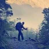 Amazing Hiking — Stock Photo