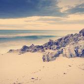 Stormy Beach — Stock Photo