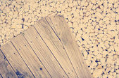 Wood and Stone — Stock Photo