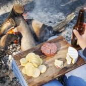 Camping Food — Stock Photo