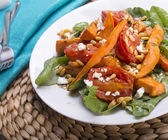 Roast Pumpkin Salad — Stock Photo