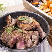 Roast Lamb — Stock Photo