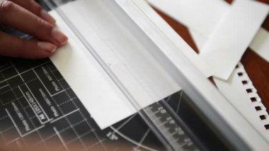 Scrapbooking Paper — Stock Video