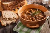 Goulash soup. — Stock Photo