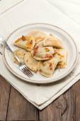 Homemade dumplings. — Stock Photo