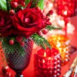 Christmas table decoration — Stock Photo #52535417