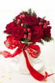 Festive bouquet for Christmas — Stock Photo