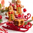 Gingerbread cookies — Stock Photo #52879151