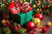 Christmas gift box  — Foto de Stock