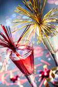 Champagne cocktail — Stock Photo