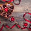 Chocolates for Valentine's Day — Stock Photo #59286619