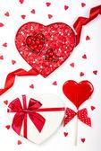 День Святого Валентина конфеты — Стоковое фото