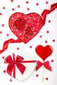 Valentine's Day candies — Stock Photo