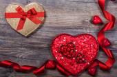 Valentine's Day candies — Stok fotoğraf