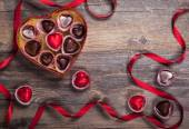 Chocolates for Valentine's Day — Stock fotografie