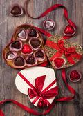 Chocolates for Valentine's Day — Foto Stock
