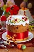 Festive Easter cake — Stock Photo