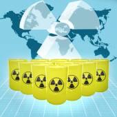 Nuclear Threat — Stock Photo