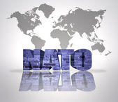 Word Nato — Stock Photo