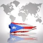 Map of Puerto Rico — Stock Photo #55993695