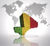 Map of Mali — Stock Photo
