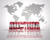 Word Austria — Stock Photo