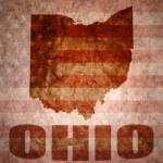 Vintage ohio map — Stock Photo #64804477