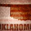 Vintage oklahoma map — Stock Photo #64996131