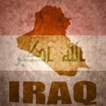 Постер, плакат: Iraq vintage map