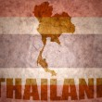 Thailand vintage map — Stock Photo #66725655