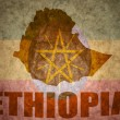Ethiopia vintage map — Stock Photo #66998855