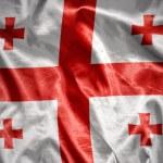 Shining georgian flag — Stock Photo #71201039