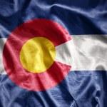 Shining colorado state flag — Stock Photo #71339423