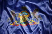Shining pennsylvania state flag — Стоковое фото