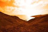 Exoplanet with vast ocean — Stock Photo