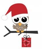 Merry christmas happy holidays — Stock Vector