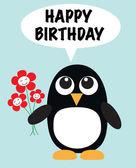 Happy birthday greeting — Stock Vector