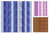 Elegant Striped Swatch Set — Stok Vektör