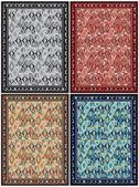 Abstract Carpet Design — Stock Vector