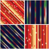 Design de Giftwrapping de Natal — Vetor de Stock