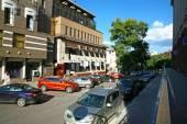 Zvezdinka street in the center of Nizhny Novgorod — Stock Photo